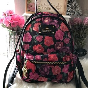 🙌 [Juicy Couture] Floral Backpack (NEW)